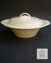 "WOODS BURSLEM "" WESTCLIFF "" SERVING TUREEN"