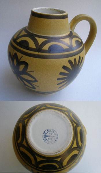 Large Cinque Ports Pottery Ltd The Monastery Rye Vase