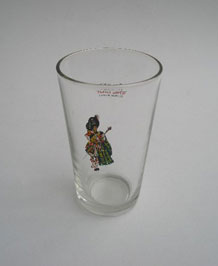 "RETRO DEWAR'S ""WHITE LABEL"" SCOTCH WHISKY TUMBLER"