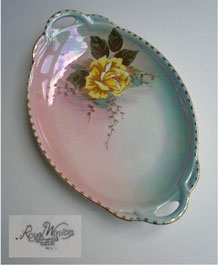 1950s ROYAL WINTON GRIMWADES  LUSTRE WARE DRESSING TABLE TRAY