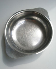 1960s GENSE SWEDEN STAINLESS STEEL SERVING DISH