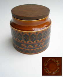 HORNSEA  HEIRLOOM SALT STORAGE JAR 1960s