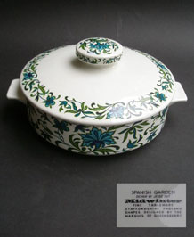 MIDWINTER SPANISH GARDEN LIDDED SERVING TUREEN DESIGNED BY JESSIE TAIT