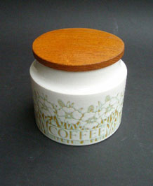 HORNSEA FLEUR COFFEE STORAGE JAR BY SARA VARDY