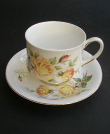ROYAL STANDARD CUP AND SAUCER