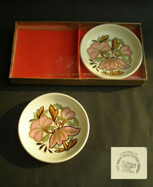 PALISSY LOTUS PIN DISHES BOXED