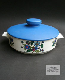 MIDWINTER ALPINE BLUE TUREEN /SERVING DISH DESIGNED BY JESSIE TAIT