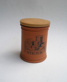 VINTAGE FULHAM POTTERY STILTON STORAGE POT