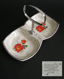 1950s MIDWINTER ROSE MARIE JAM /CONSERVE DISH
