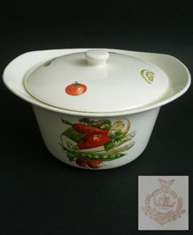 1960s EGERSUND LIDDED SERVING POT/ TUREEN