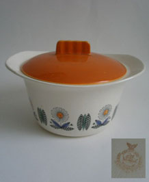 1950s EGERSUND NORWAY LIDDED SERVING TUREEN