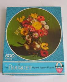 ARROW GAMES 500 PIECE ROUND JIGSAW (1960S)