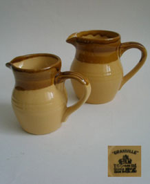 T. G. GREEN GRANVILLE CHURCH GRESLEY MILK JUGS