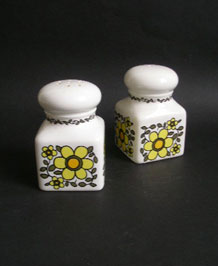 VINTAGE   TAUNTON  VALE   LARGE  SALT  AND  PEPPER  SET