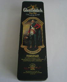 GLENFIDDICH CLAN SINCLAIR WHISKY TIN