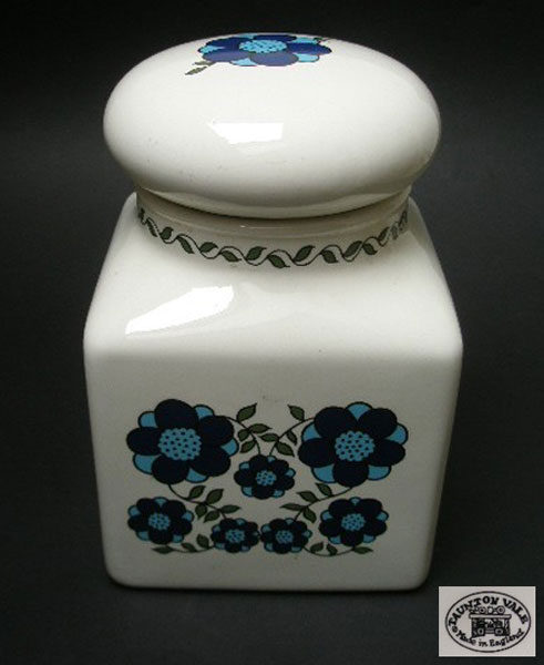 Taunton Vale Flower Power Large Storage Jar A Pretty
