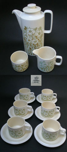 HORNSEA FLEUR COFFEE SET DESIGNED BY SARA VARDY
