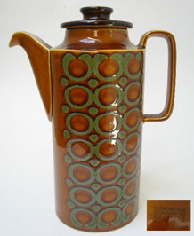 HORNSEA BRONTE COFFEE POT 1960s