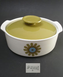 J & G MEAKIN GALAXY LIDDED TUREEN / SERVING DISH