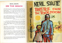(5) NEVIL SHUTE FIRST EDITION (1960) ' TRUSTEE FROM THE TOOLROOM' PUBLISHED BY HEINEMANN