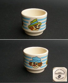 HORNSEA MACKINTOSH S TOFFEE & MALLOW EGG CUP