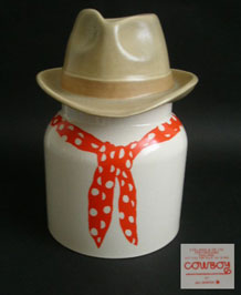 J & G MORTEN COWBOY STORAGE JAR S. FIELDING & CO LTD