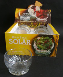 RAVENHEAD SOLAR SUNDAE DISHES 26cl DESIGNED BY ANNETTE MEECH