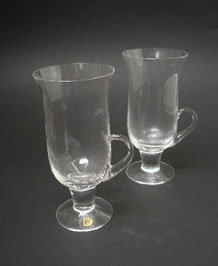 DARTINGTON  IRISH COFFEE GLASSES FT83 DESIGNED BY FRANK THROWER