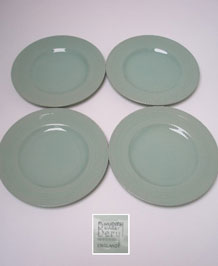 WOODS WARE BERYL SIDE / TEA PLATES X4