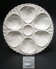 ICTC CERAMIC OYSTER PLATE